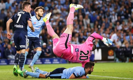 Sydney FC crowned A-League champions after grand final shootout against Melbourne Victory