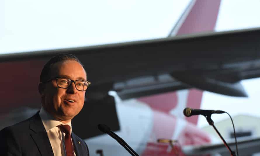 Qantas Alan Joyce says