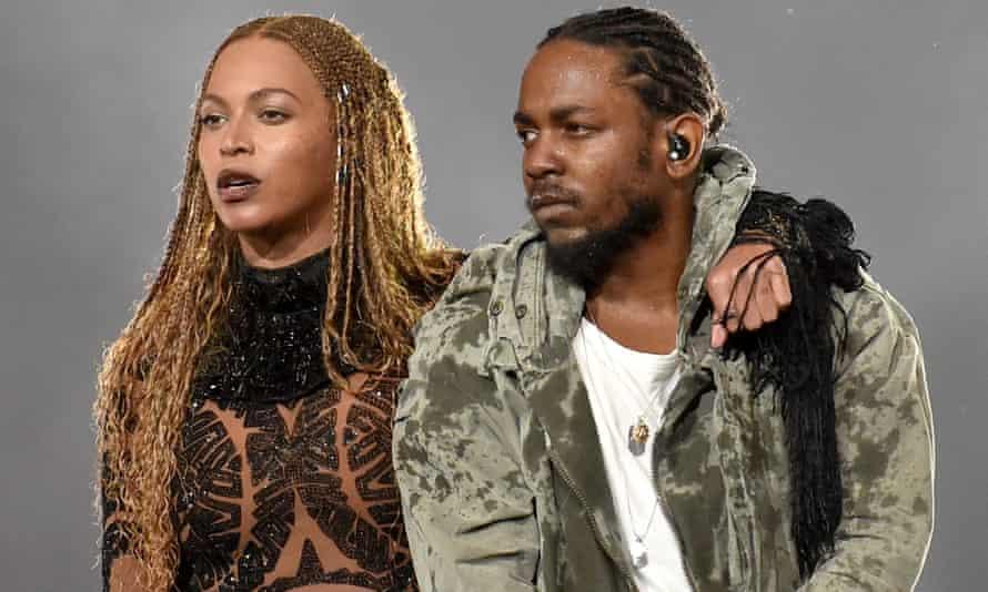 Beyoncé and Kendrick Lamar