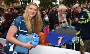 Swimmer Rebecca Adlington