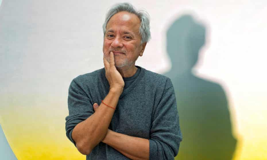 Anish Kapoor at his studio in south London.