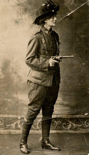 Constance Markievicz, the so-called 'rebel countess'.