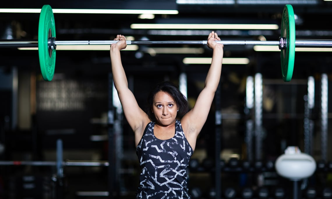 Weightlifter Zoe Smith