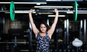 Weightlifter Zoe Smith