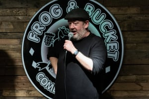 Johnny Vegas performing at the Frog and Bucket.