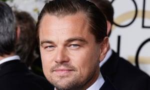 Leonardo DiCaprio: best actor, pursued by a bear.