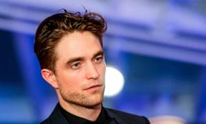 Slip of the tongue ... Robert Pattinson.