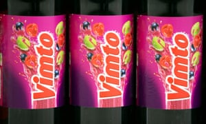 Bottles of Vimto