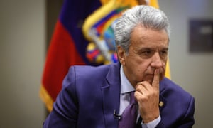 President, Lenín Moreno: 'If the person looks good according to the standards, they tend not to think necessarily that it is harassment.'