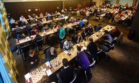 The Four Nations Chess League tournament in Birmingham this month.
