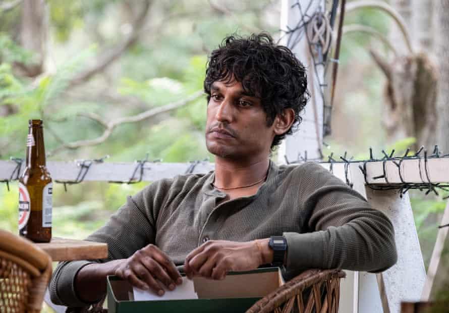 Rudi Dharmalingam as Nik in a still from the ABC TV drama series Wakefield.