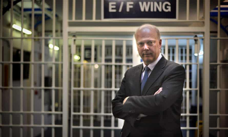 Chris Grayling in 2013 when he was justice secretary.