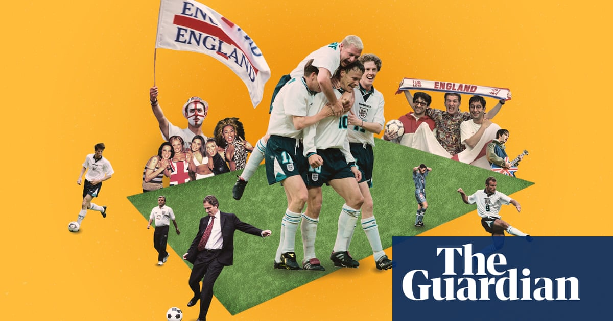 Never stopped me dreaming: how Euro 96 illuminated our world