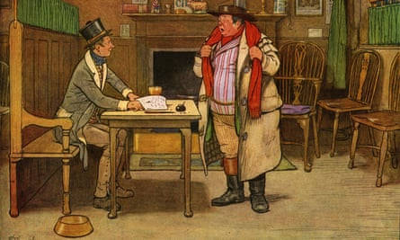 Sam Weller Widdowson's curious name arose from his father's favourite Dickens character Sam Weller, right, from the Pickwick Papers.