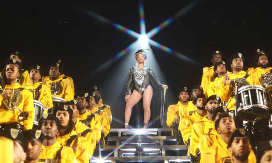 Beyoncé in Homecoming.