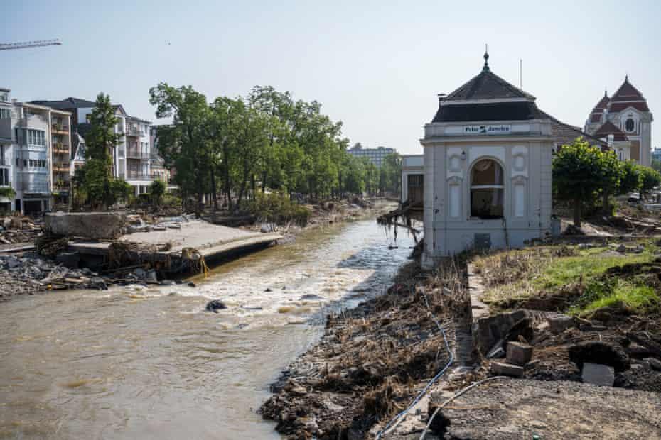 Bad Neuenahr a week after the flood