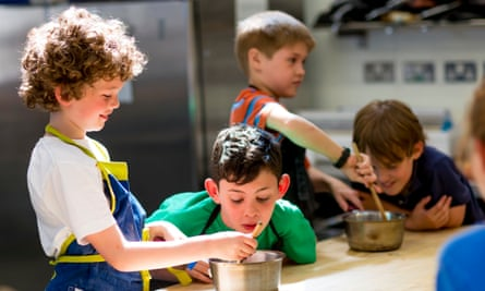 Edinburgh New Town Cookery School.
