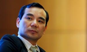 Wu Xiaohui attends the China Development Forum in Beijing, China.