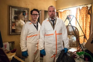 Ingenuity … Shearsmith, left, and Pemberton Inside No 9