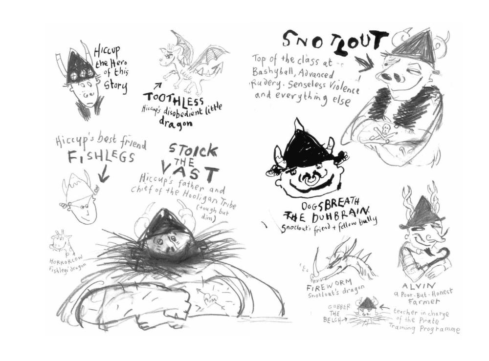 Cressida cowell my tour through 15 years of how to train your cressida cowell my tour through 15 years of how to train your dragon in pictures childrens books the guardian ccuart Choice Image