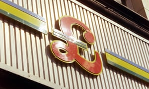 A Poundstretcher logo above a store in east London