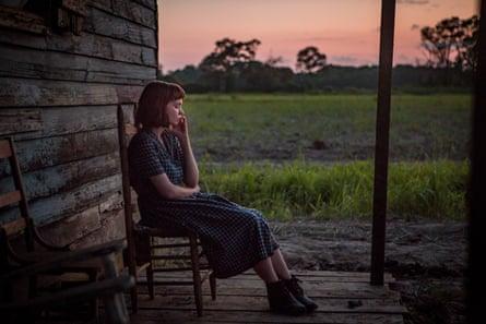 Carey Mulligan in Mudbound.