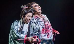 Yūko Tanaka as Lady Macbeth and Masachika Ichimura as Macbeth.