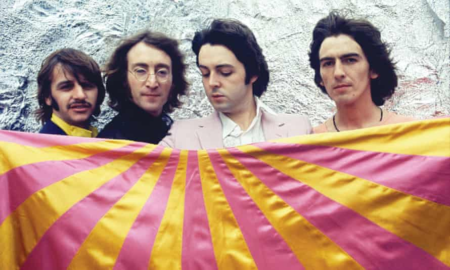 The Beatles, pictured in July 1968, four months before the release of The White Album.