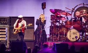 John McVie, Stevie Nicks and Mick Fleetwood in Sydney, 22 October 2015