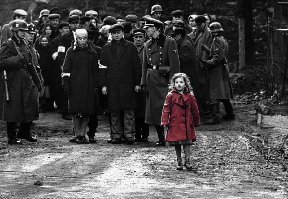 A dash of colour – Schindler's List won best picture in 1994.