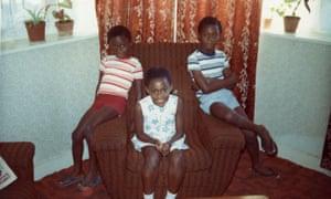 ekow Eshun with family