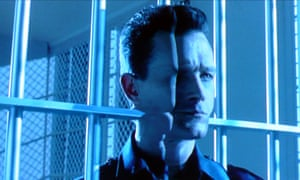 Robert Patrick as the T-1000 in Terminator 2: Judgment Day.