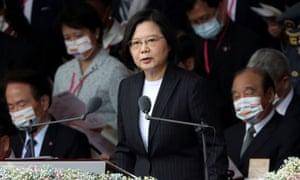 Taiwan President Tsai Ing-wen in Taipei, Taiwan, in October.
