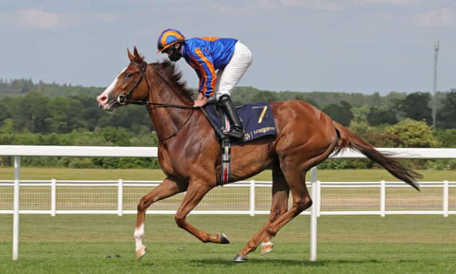 Love won the Prince of Wales's Stakes at Royal Ascot