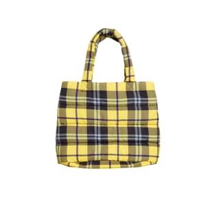 Plaid bag, £30, monki.com