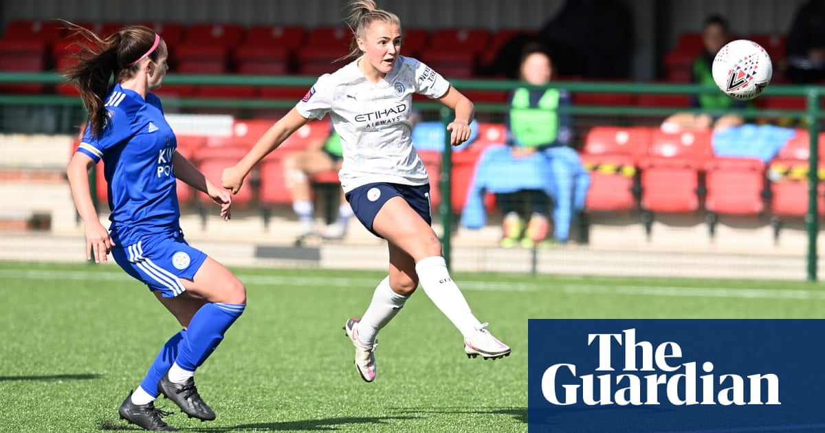 Manchester City edge out Leicester in Womens FA Cup as Chelsea are stunned