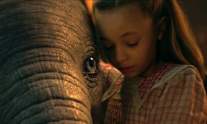 Dumbo with Nico Parker.