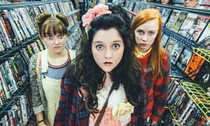 Raised By Wolves: Yoko (Molly Risker), Germaine (Helen Monks) and Aretha (Alexa Davies).