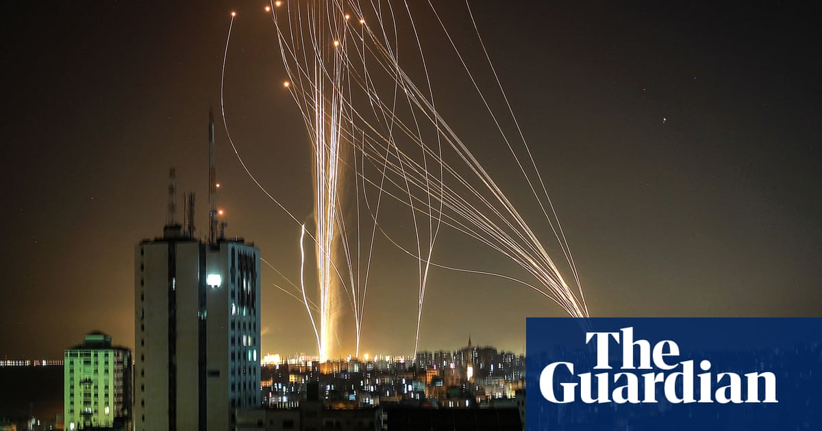'All I saw was fire': rockets fracture the sense of safety in Tel Aviv
