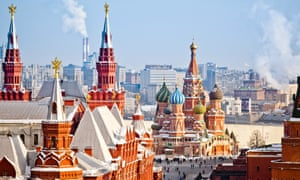 Historical Museum, St.Basil Cathedral, Red Square, Kremlin in Moscow.