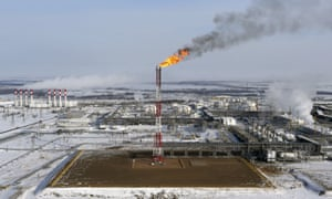 Rosneft's Vankorskoye oil field in Siberia