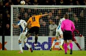 Rúben Neves was at it again, smashing a volley from the edge of the area into the top corner.