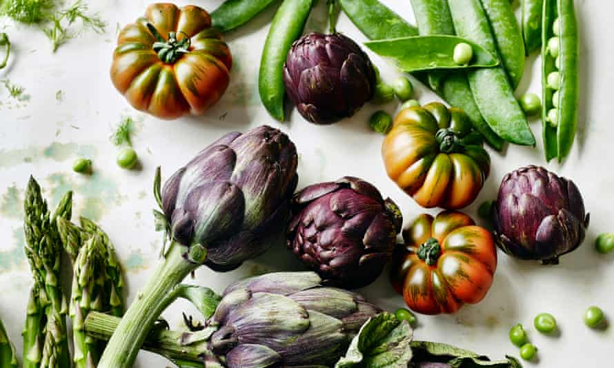 Vegetables: nutritious, and much more environmentally friendly than meat.