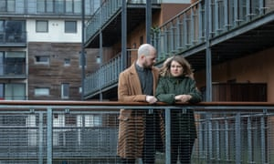Natasha Johannson and Matthew Hallsworth outside the Albion Works complex.