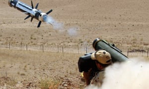 An Australian soldier fires a rocket in Afghanistan