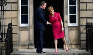 The prime minister and SNP leader meet for the first time since the general election