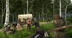Kingdom Come: Deliverance has realistic combat, encouraging caution when approaching foes.