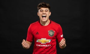 Daniel James has signed a five-year deal with Manchester United.
