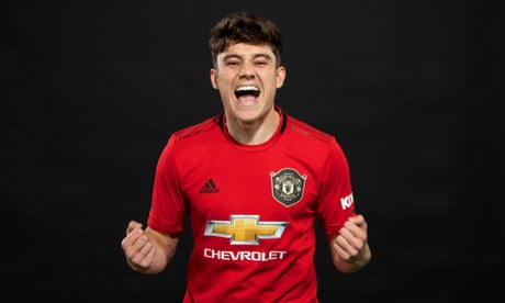 Daniel James's exceptional pace will benefit United, says Solskjær