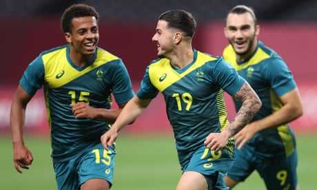 Australia stun 10-man Argentina at Olympics with goals from Wales and Tilio